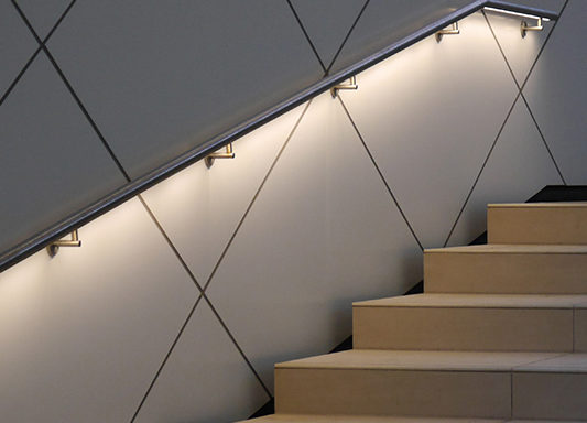 Liniled Handrail 42 Mm Revolutionary Led Based