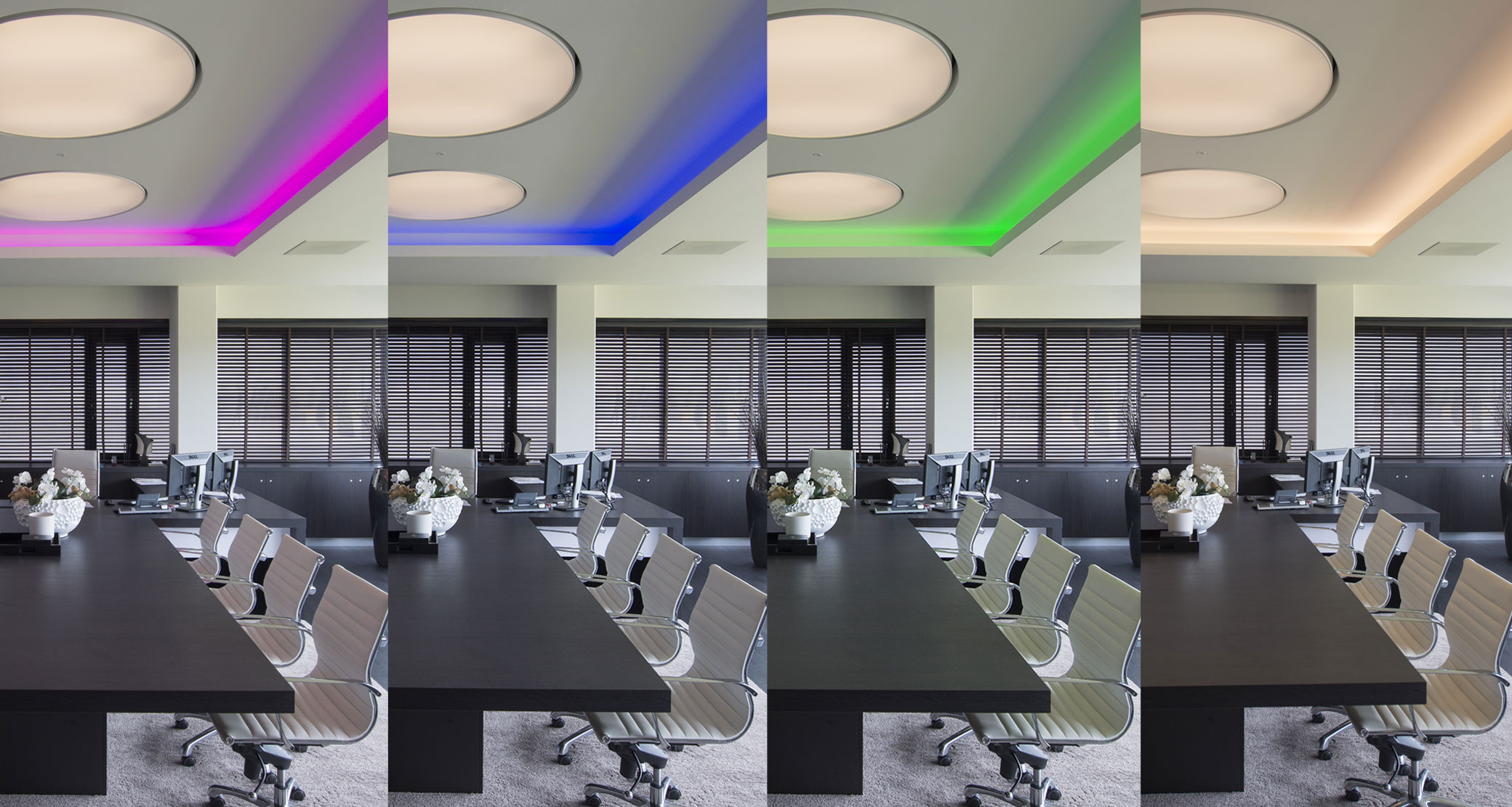 RGBW LED strips: always the right colour for your project!